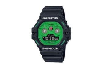 Casio G-Shock 5900 Hot Rock Digital Watch - Black/Green (DW5900RS-1D)