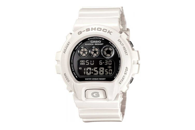 Casio G-Shock Classic Digital Watch - White/Black (DW6900NB-7)