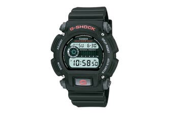 Casio G-Shock Digital Watch - Black/Red (DW9052-1)