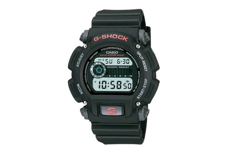 Casio G-Shock Digital Watch - Black/Red (DW9052-1)