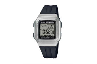 Casio Classic Digital Watch - Black/Silver (F201WAM-7A)