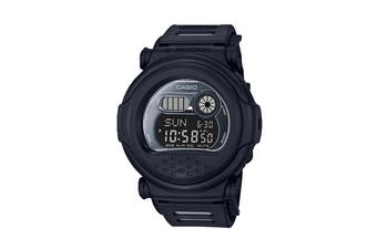 Casio G-Shock Digital Blackout Watch with Resin Band - Black (G001BB-1D)