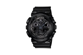 Casio G-Shock Camouflage Ana-Digital Watch - Black/Gray (GA-100CF-1ADR)