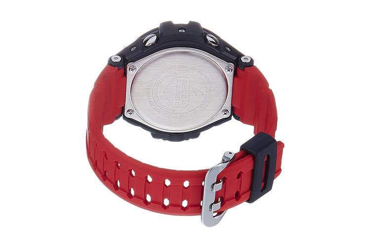 Casio G-Shock Analog Digital Gravity Defier Watch with Resin Band - Black/Red  (GA1000-4B)
