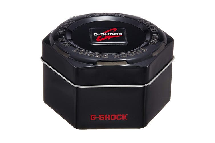 Casio G-Shock Analog Digital Watch with Shock/Water Resistance, Anti-Magnetism & Resin Band - Black/Blue (GA100CB-1A)