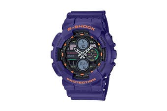 Casio G-SHOCK Ana-Digital Watch - Purple (GA140-6A)