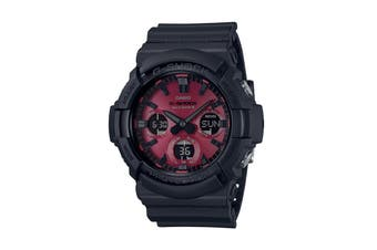 Casio G-Shock Duo Adrenalin  Ana-Digital Watch - Black/Red (GAS100AR-1A)
