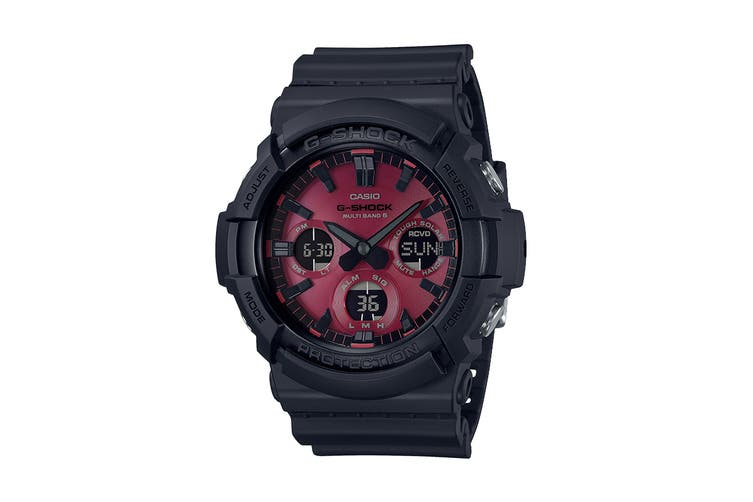 Casio G-Shock Duo Adrenalin  Ana-Digital Watch - Black/Red (GAS100AR-1A)