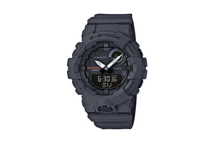 Casio G-SHOCK Step Tracker Ana-Digital Watch - Grey (GBA800-8A)