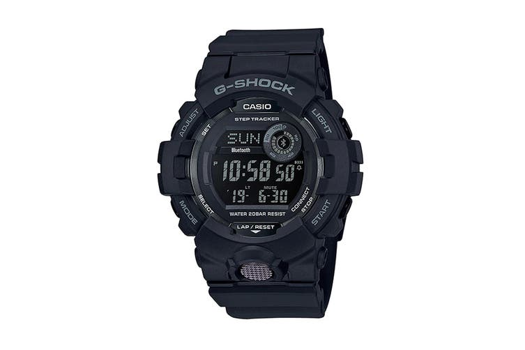 Casio G-Shock Analog Digital Watch with App Connectivity & Resin Band - Black (GBD800-1B)