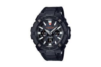 Casio G-Shock Analog Digital G-Steel Duo Street Style Smart Watch with Resin Band - Black (GSTS130BC-1A)