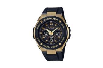 Casio G-SHOCK G-STEEL Ana-Digital Watch - Black/Gold (GSTS300G-1A9)