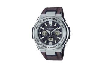 Casio G-SHOCK G-STEEL Ana-Digital Watch - Silver/Black (GSTS330L-1A)