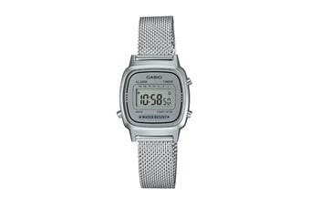Casio Ladies Vintage Series Watch -Silver (LA670WEM-7D)