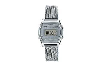 Casio Ladies Vintage Series Watch -Silver (LA690WEM-7D)