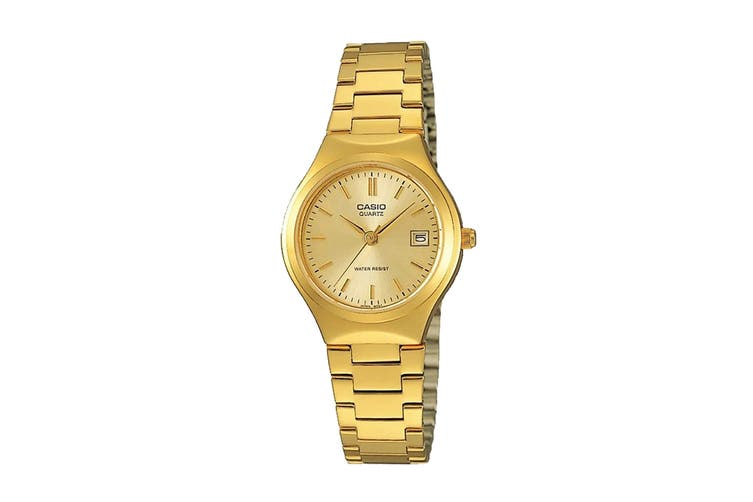 Casio Analog Stainless Steel Watch - Gold (LTP1170N-9A)