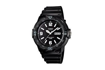 Casio Diver Analog Watch - Black/White (MRW200H-1B2)