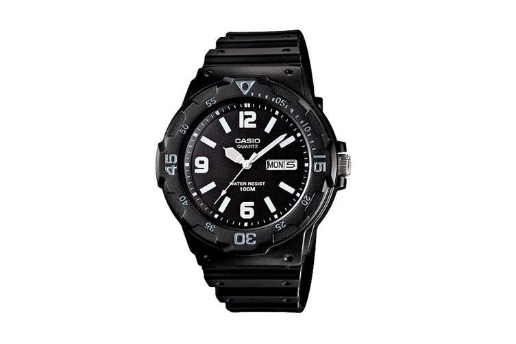 Casio Diver Analog Watch - Black/White (MRW200H-1B2)
