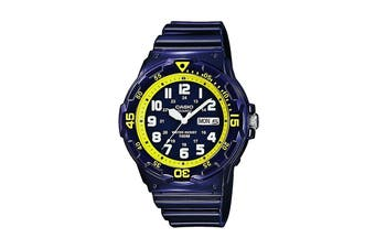 Casio G-Shock Analog Watch with Resin Band - Blue (MRW200HC-2B)