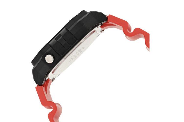 Casio Illuminator Digital Watch - Black/Red (W218H-4B)