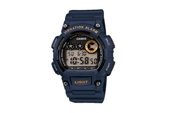 Casio Men's Digital Watch - Blue (W735H-2A)