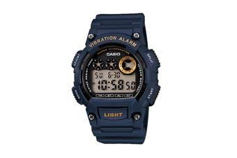 Casio Men's Digital Watch - Blue (W735H-2A)