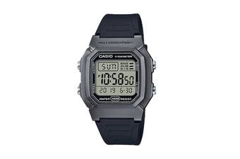 Casio Digital Watch - Black/Silver (W800HM-7A)