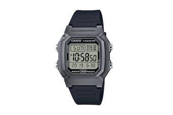 Casio Digital Watch - Black/Silver (W800HM-7A)