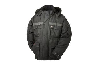 Caterpillar Men's Heavy Insulated Parka (Black)