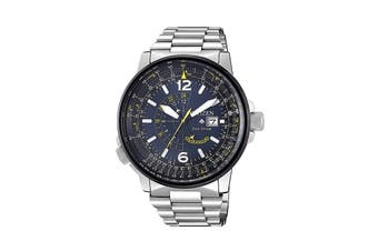 Citizen Men's Eco-Drive Promaster Blue Angels Watch with Ion-plated Stainless Steel Case - Blue/Stainless Steel (BJ7006-56L)