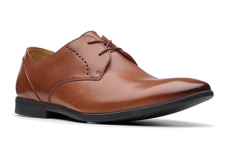 Clarks Men's Bampton Lace Shoe (Tan G, Size 10.5 UK)