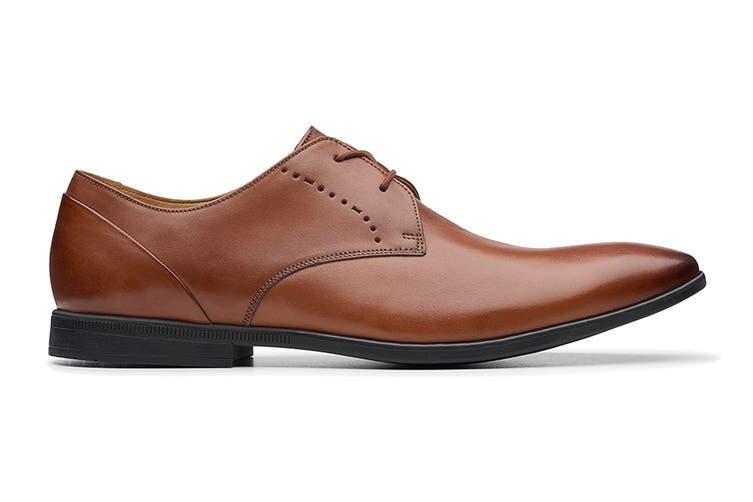 Clarks Men's Bampton Lace Shoe (Tan G, Size 7.5 UK)