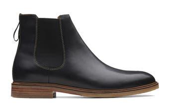 Clarks Men's Clarkdale Gobi Shoe (Black Leather G, Size 6.5 UK)