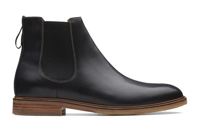 Clarks Men's Clarkdale Gobi Shoe (Black Leather G, Size 8.5 UK)