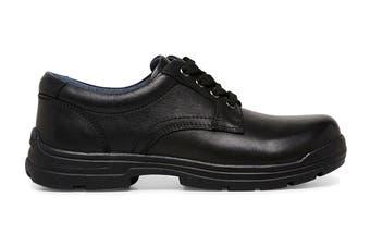 Clarks Boys' Matter Shoe (Black F Wide, Size 013 UK)