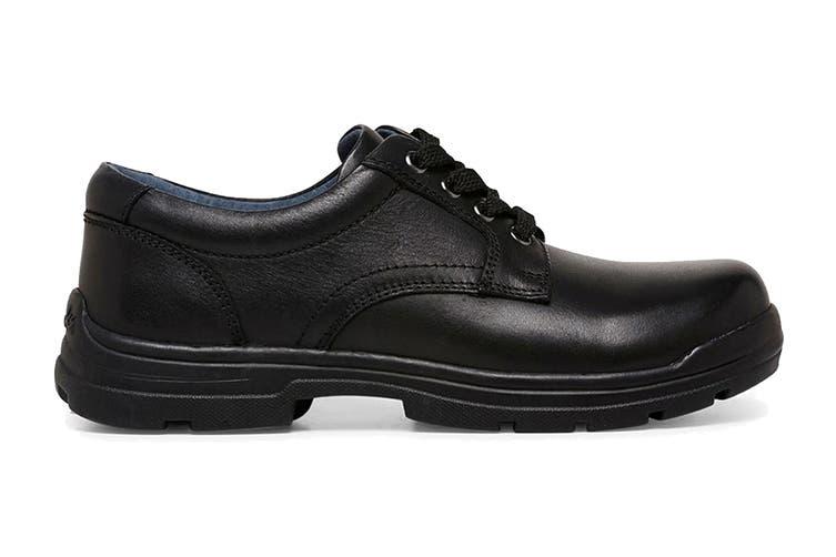 Clarks Boys' Mentor Shoe (Black G Extra Wide, Size 08.5 UK)