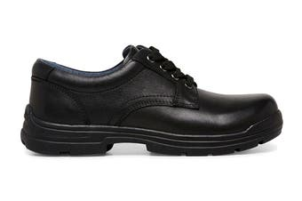 Clarks Boys' Mentor Shoe (Black G Extra Wide, Size 08 UK)