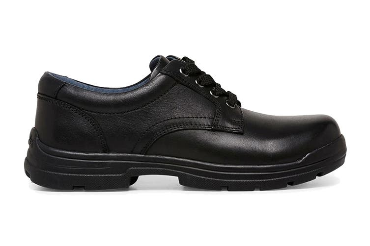 Clarks Boys' Mentor Shoe (Black G Extra Wide, Size 09.5 UK)