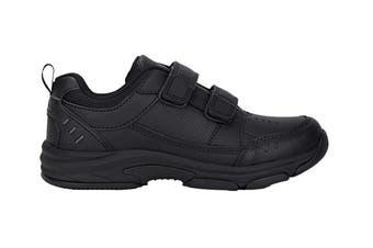 Clarks Kids Advance Shoe (Black E+)