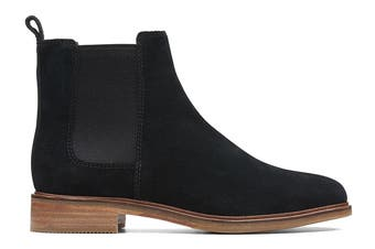 Clarks Women's Clarkdale Arlo Shoe (Black Suede D, Size 5 UK)