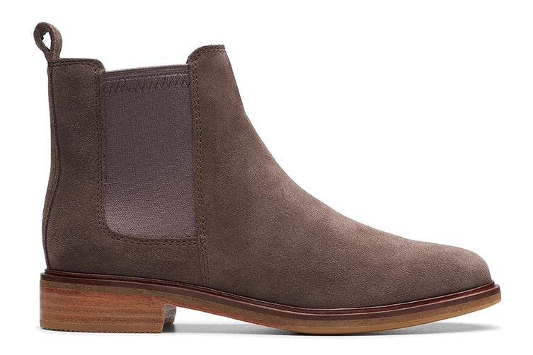 Clarks Women's Clarkdale Arlo Shoe (Taupe Suede D, Size 5 UK)