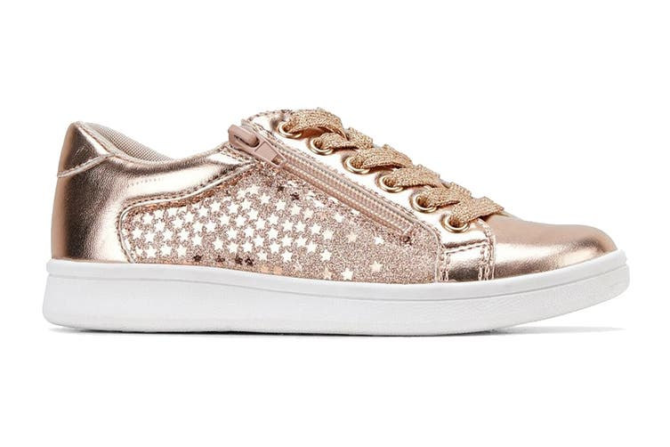 Clarks Girls' Dot Shoe (Rose Gold E+, Size 39 EU)