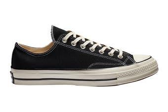 Converse Unisex Chuck 70 Ox (Black/Black/Egret, Size 7.5)