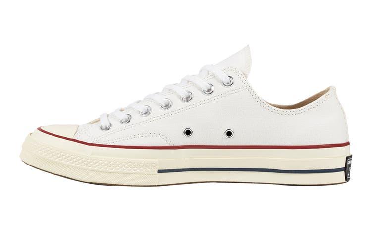 Converse Unisex Chuck 70 Ox (White/Garnet/Egret, Size 8)
