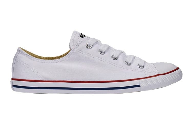 Converse Unisex Chuck Taylor All Star Dainty Ox (White, Size 6.5)