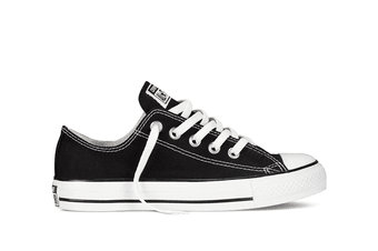 Converse Chuck Taylor All Star Ox Lo (Black, US Mens 9.5 / US Womens 11.5)