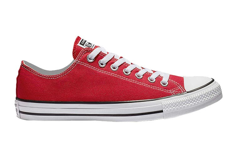 Converse Unisex Chuck Taylor All Star Ox (Red, Size 10.5)