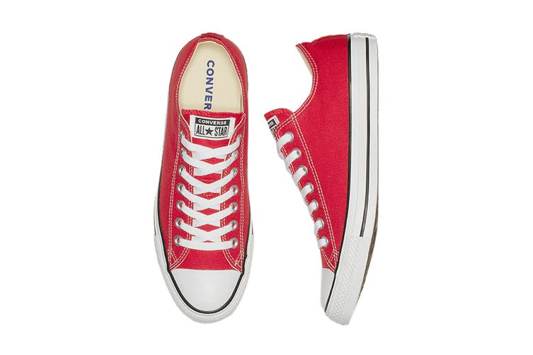 Converse Unisex Chuck Taylor All Star Ox (Red, Size 6)