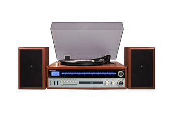 Crosley 1975T Entertainment System - Walnut (CR6038A-WA)