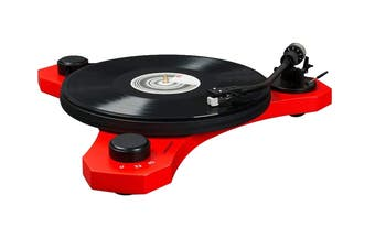 Crosley C3 Turntable - Red (CRC3A-RE)